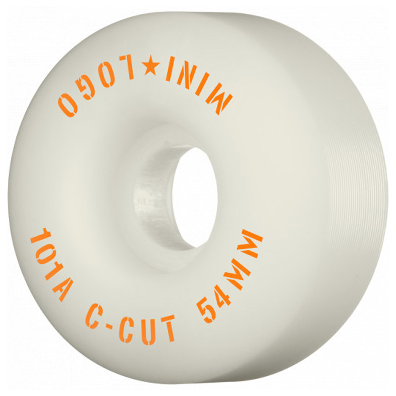 Mini Logo C-Cut 2 Wheels 101A White 54mm