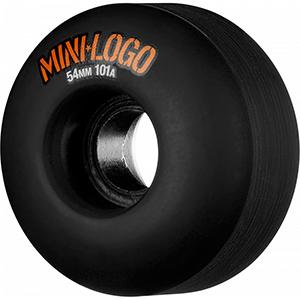 Mini Logo C-Cut Black Wheels 101A 54mm