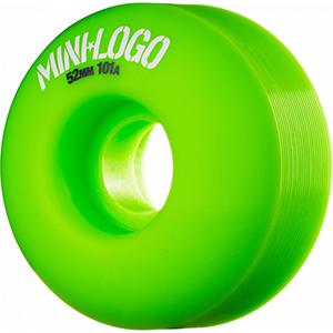Mini Logo C-Cut Green Wheels 101A 52mm