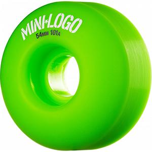 Mini Logo C-Cut Green Wheels 101A 54mm