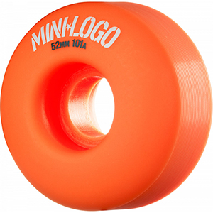 Mini Logo C-Cut Orange Wheels 101A 52mm