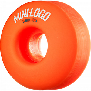 Mini Logo C-Cut Orange Wheels 101A 54mm