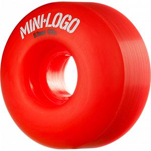 Mini Logo C-Cut Red Wheels 101A 53mm