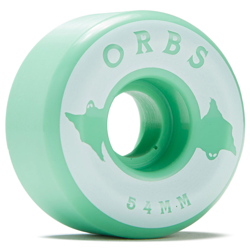 Orbs Specters Conical Solids Wheels 100A Mint 54mm