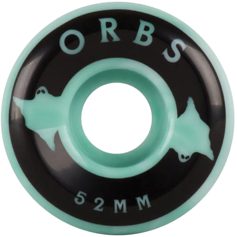 Orbs Specters Conical Wheels 99A Teal/White Swirl 52mm