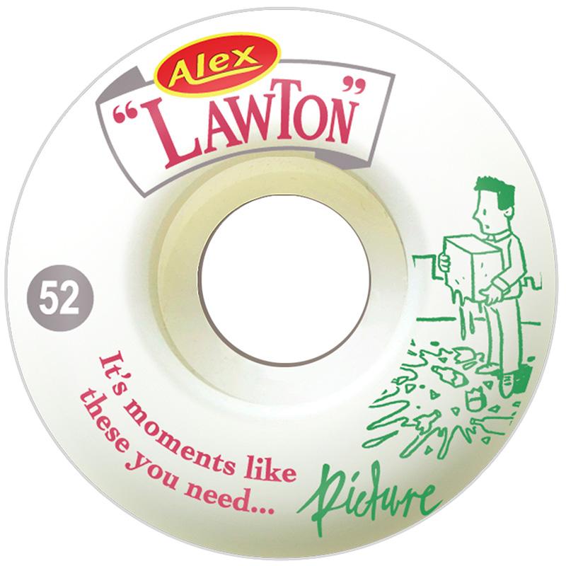 Picture Wheel Co Alex Lawton Moments Pro Wheel Concial Shape Wheels 52mm