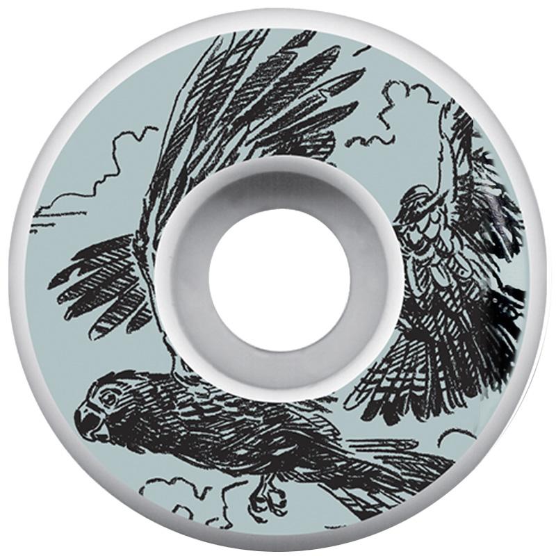 Picture Wheel Co Ben Horton Glossy Black Cockatoo Wheels 51mm