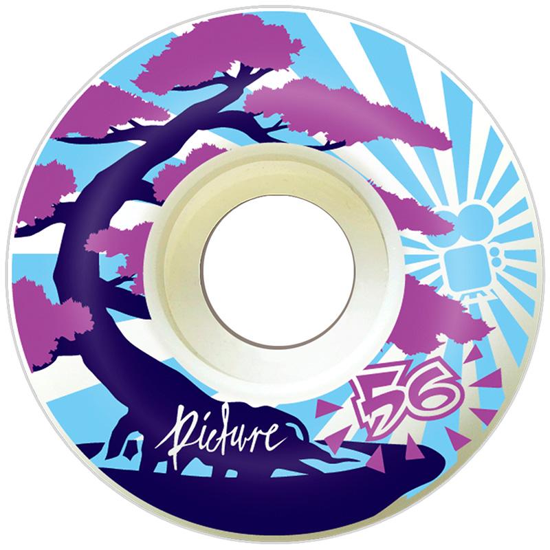 Picture Wheel Co Bonsai Baby Blue Wheels 56mm