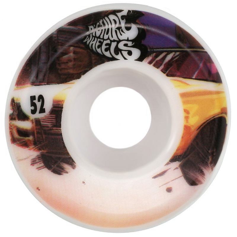 Picture Wheel Co Kung Fu Drifter Go Fast Wheels 52mm