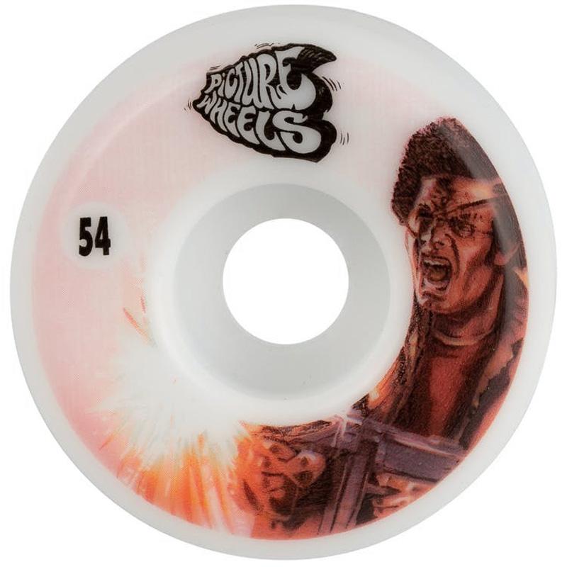 Picture Wheel Co Kung Fu Drifter My Uzi Wheels 54mm