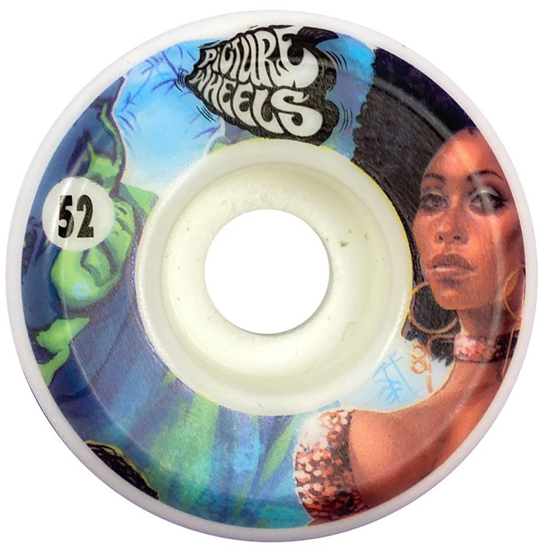 Picture Wheel Co Kung Fu Drifter Shining Wheels 52mm