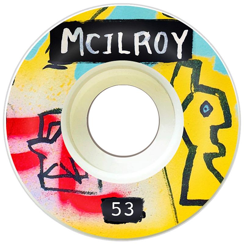 Picture Wheel Co Marty Baptist x Joel Mcilroy Wheels 53mm