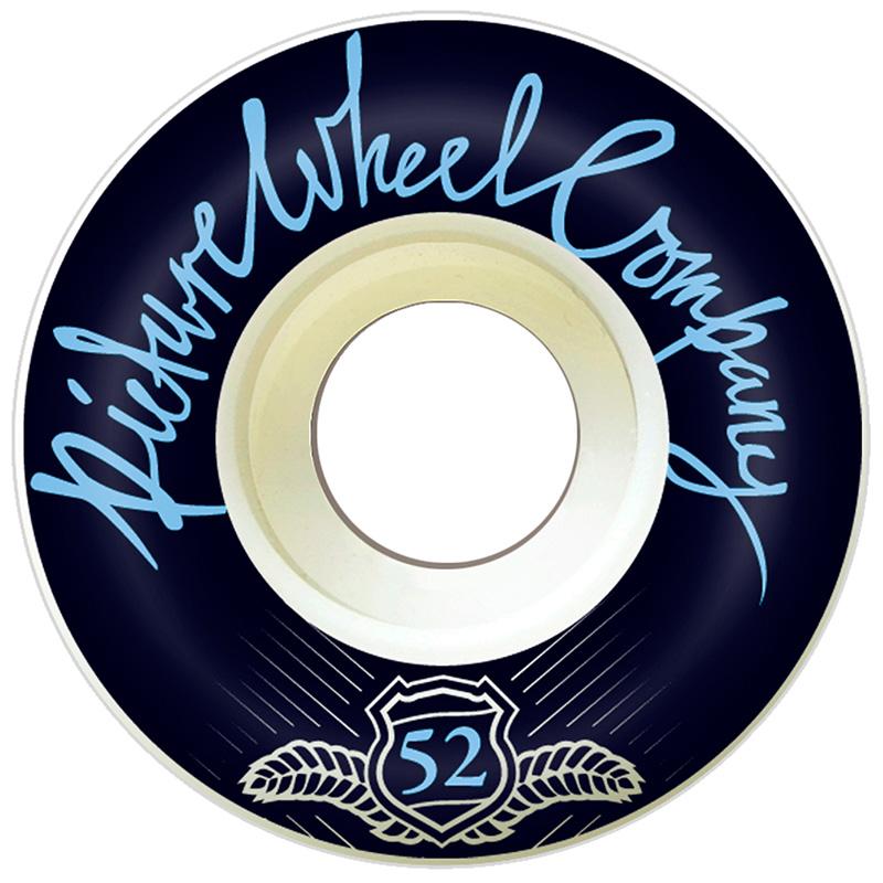 Picture Wheel Co POP Baby Blue Wheels 52mm