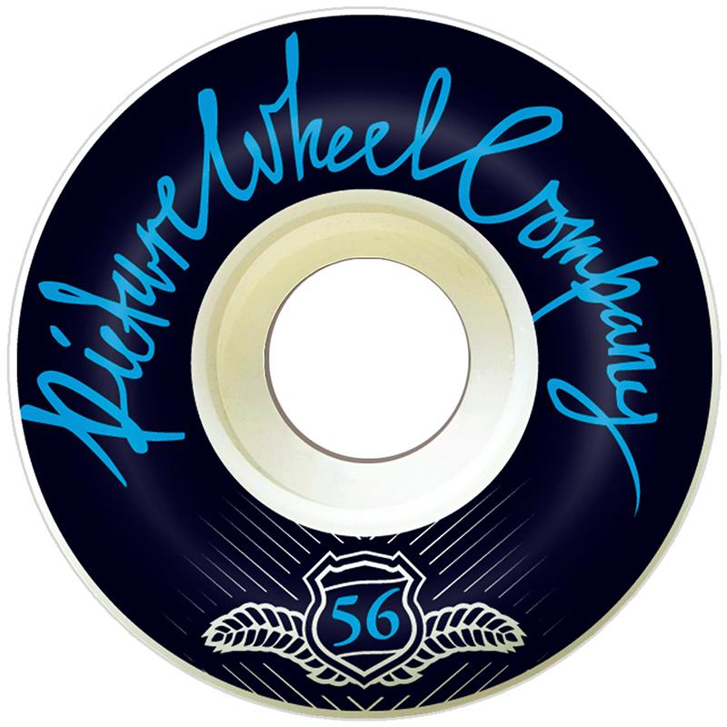 Picture Wheel Co POP Reverse Background Wheels Blue 56mm
