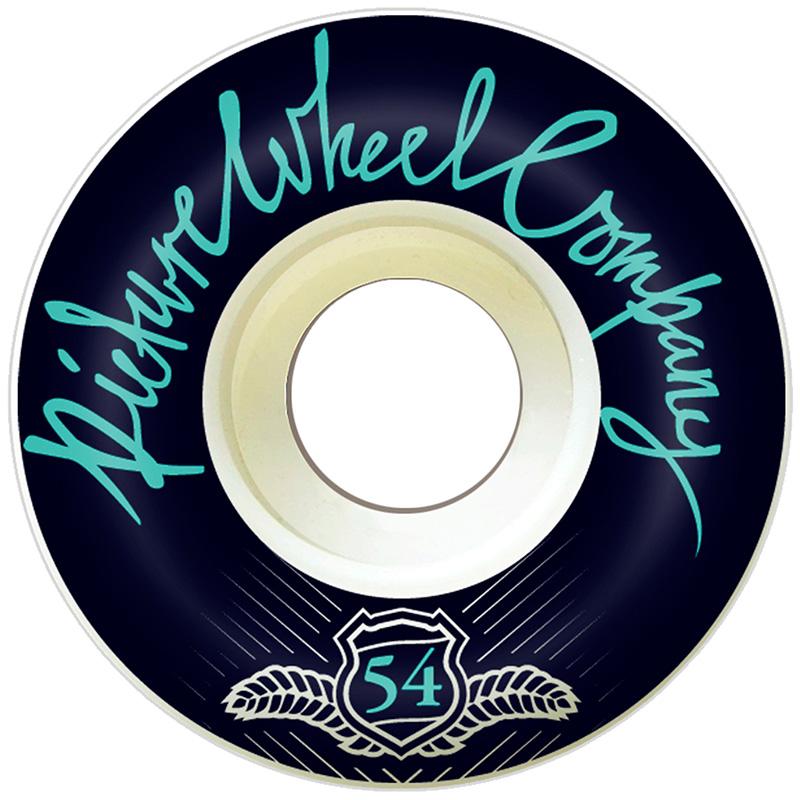 Picture Wheel Co POP Teal Wheels 54mm