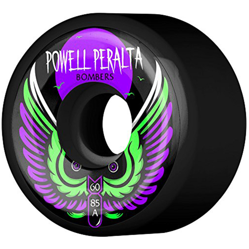 Powell Peralta Bombers 3 Wheels Black 85a 60mm