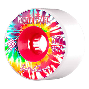Powell Peralta Byron Essert Wheels White 75A 72mm