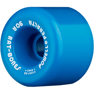 Powell Peralta Rat Bones Wheels Blue 90A 60mm