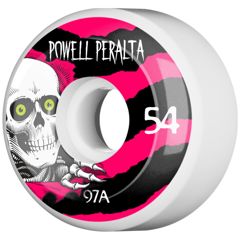 Powell Peralta Ripper 4 Wheels White 97a 54mm