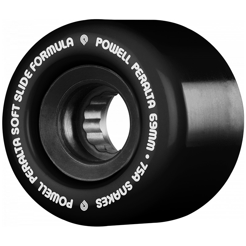 Powell Peralta Snakes 02 Wheels Black 75A 69mm