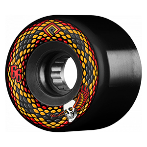 Powell Peralta Snakes Wheels Black 75A 66mm
