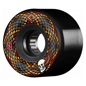 Powell Peralta Snakes Wheels Black 75A 69mm