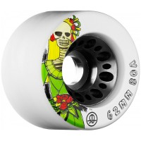 RollerBones Speed/Derby Day Of The Dead Nylon Hub Wheels 80A 62mm