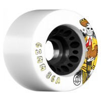 RollerBones Speed/Derby Day Of The Dead Nylon Hub Wheels 86A 62mm