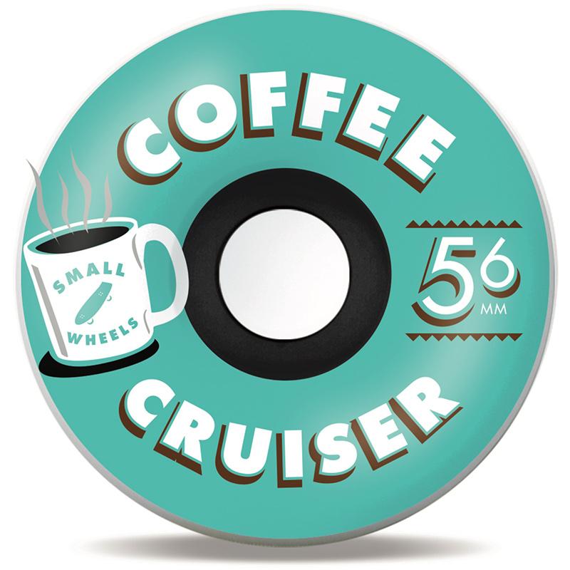 Sml. Coffee Cruisers Mint Wheels 78a 56mm