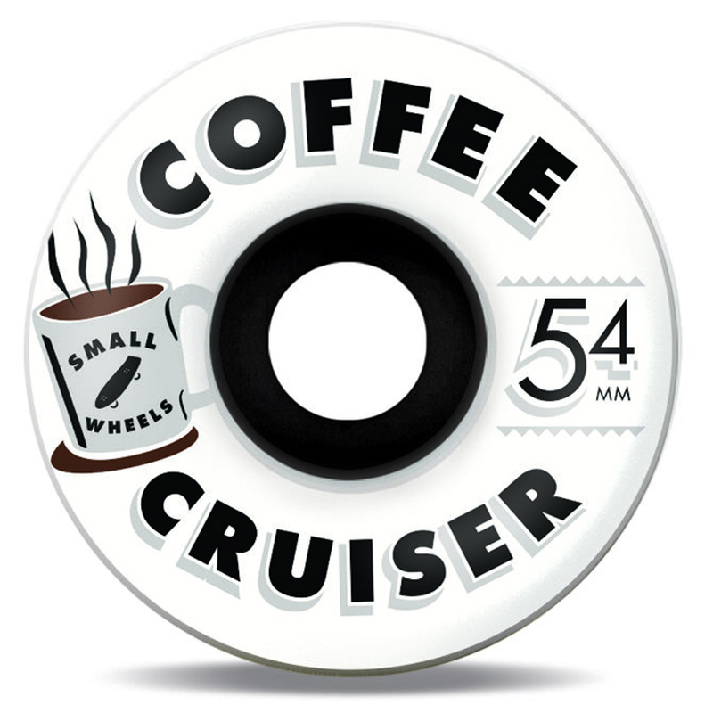 Sml. Coffee Ghosts Cruiser Wheels 78A 54mm