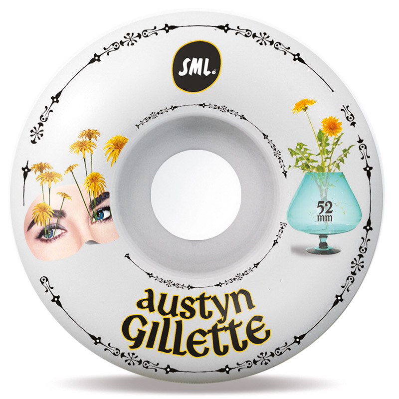 Sml. Delicate Austyn Gillette OG Wide Wheels 99A 52mm
