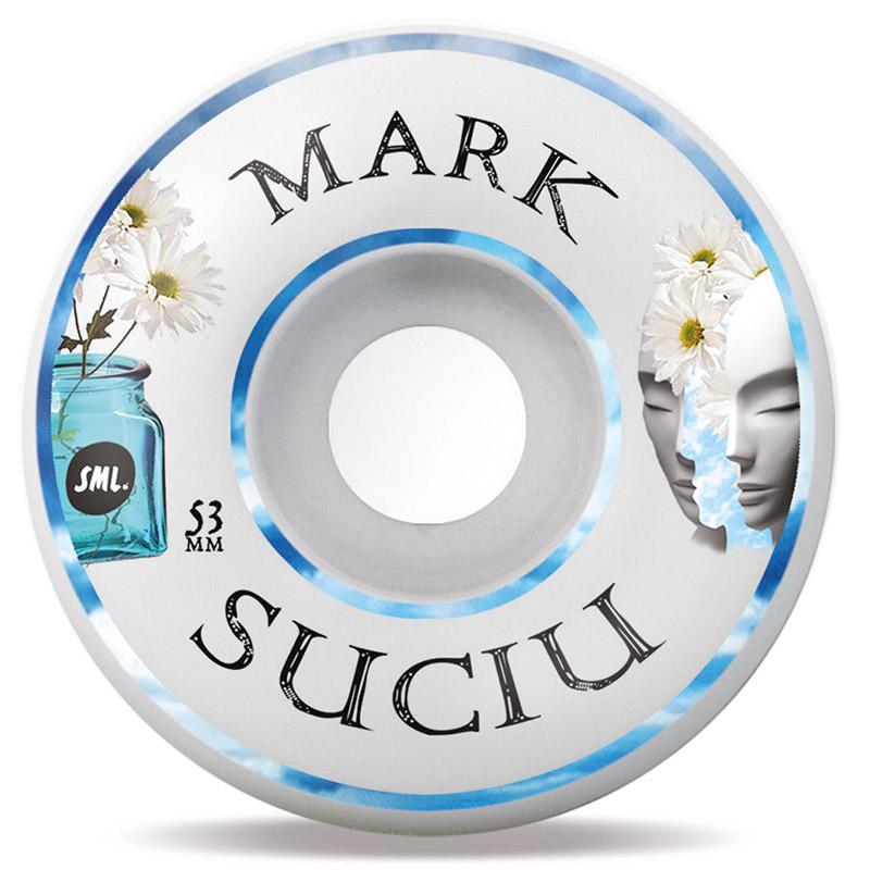 Sml. Delicate Mark Suciu V-Cut Wheels 99A 53mm