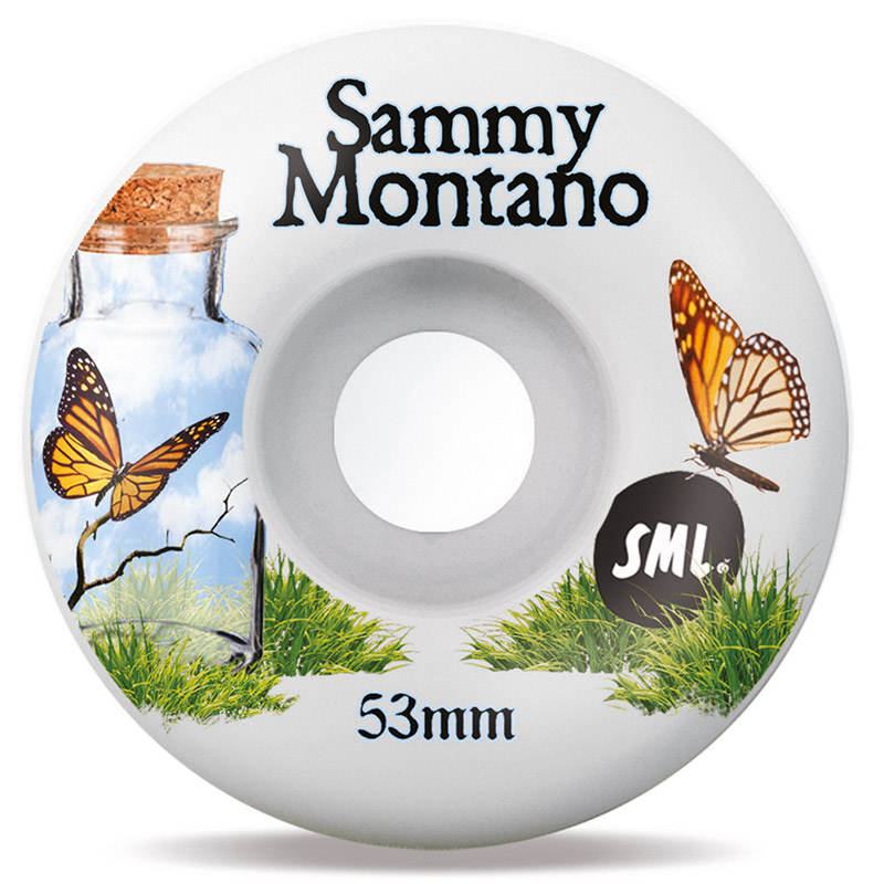 Sml. Delicate Sammy Montano OG Wide Wheels 99A 53mm