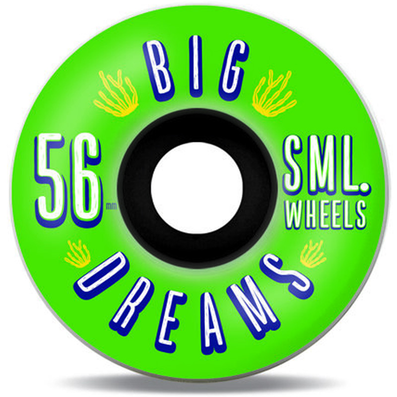 Sml. Succulent Cruisers Greenies  Wheels 92a 56mm