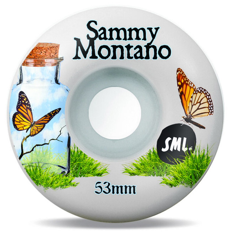 Sml. The Love Sammy Montano V-Cut Wheels 99A 53mm