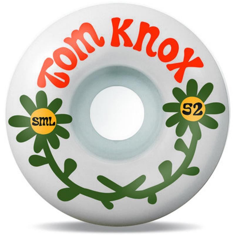 Sml. The Love Series Tom Knox V-Cut Wheels 99a 52mm