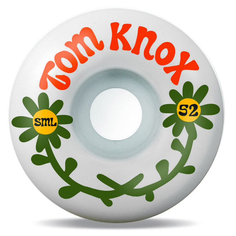 Sml. The Love Tom Knox V-Cut Wheels 99A 52mm