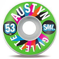 Sml. Austyn Gillette Marquee V-Cut 99a Wheels 53mm
