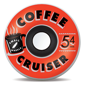 Sml. Coffee Cruiser Bourbons Graphic 78A Wheels 54mm