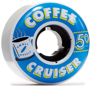 Sml. Coffee Cruiser Espresso Graphic 78a Wheels 50mm