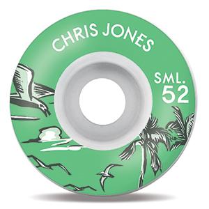 Sml. Nautical Series Chris Jones V-Cut Wheels 52mm
