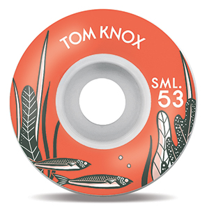 Sml. Nautical Series Tom Knox V-Cut Wheels 53mm