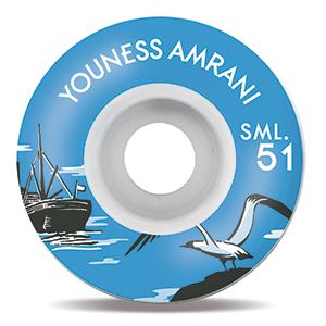 Sml. Nautical Series Youness Amrani OG Wide Wheels 51mm