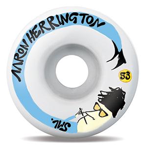 Sml. Preemo Series Aaron Herrington V-Cut Wheels 53mm