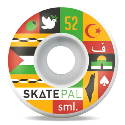 Sml. x SkatePAL V-Cut 99a Wheel 52mm