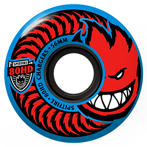 Spitfire Chargers Classic Wheels Blue 80HD 54mm