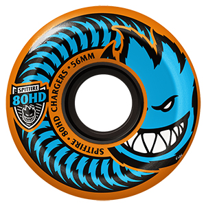 Spitfire Chargers Conical Wheels Orange 80HD 56mm