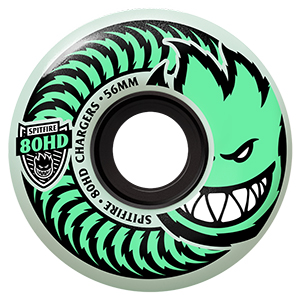 Spitfire Chargers Stay Lit Glow Wheels 80HD 54mm