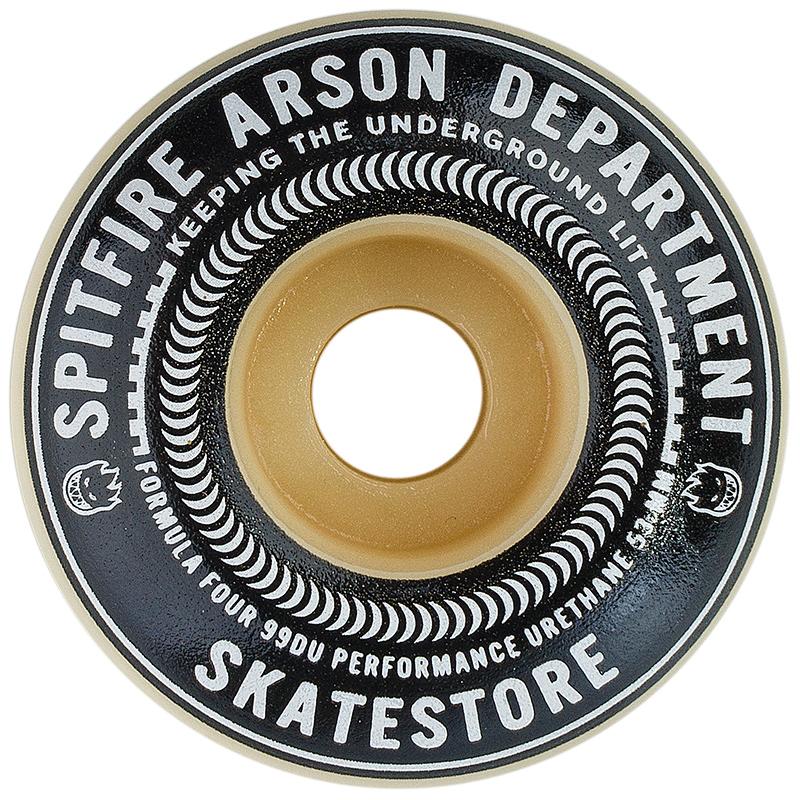 Spitfire Burn Union Skatestore Formula Four Wheel 99D 53mm