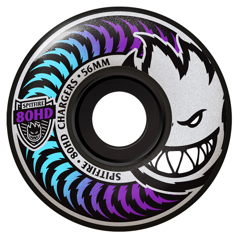 Spitfire Classic Charge Wheels Icey Fade 80HD 56mm